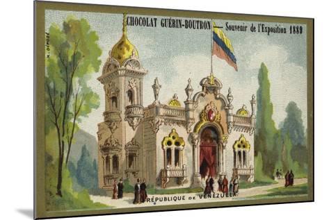 Republic of Venezuela--Mounted Giclee Print
