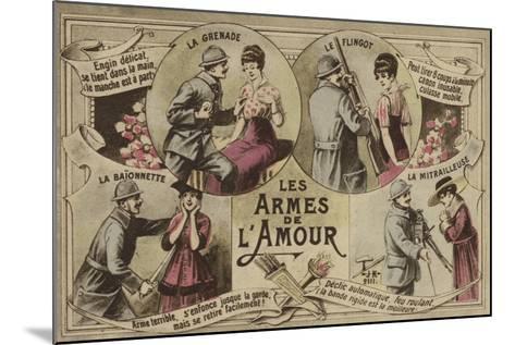 Les Armes De L'Amour--Mounted Giclee Print