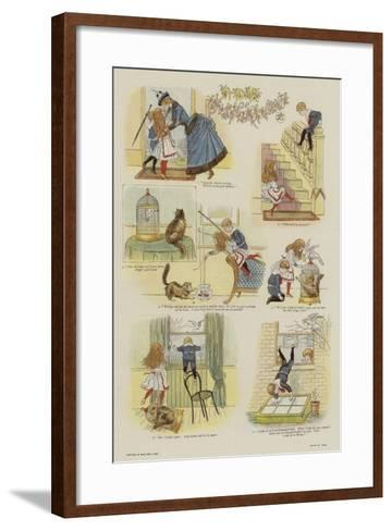 A Day of Misfortunes--Framed Art Print