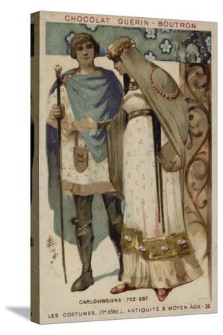 Carolingian Costumes--Stretched Canvas Print