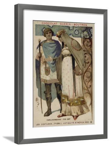 Carolingian Costumes--Framed Art Print