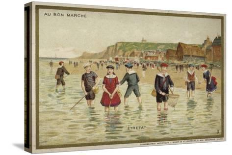 Etretat, France--Stretched Canvas Print