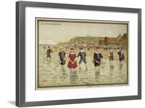 Etretat, France--Framed Art Print