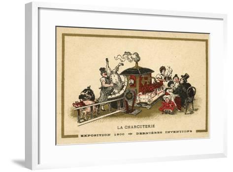 Charcuterie--Framed Art Print