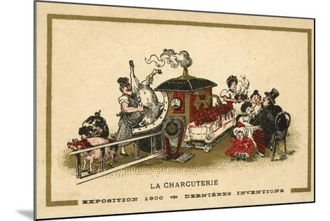 Charcuterie--Mounted Giclee Print
