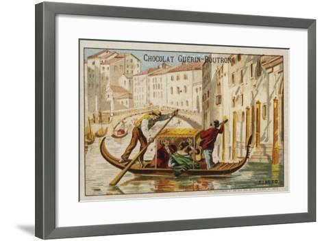 Rialto Bridge, Venice--Framed Art Print