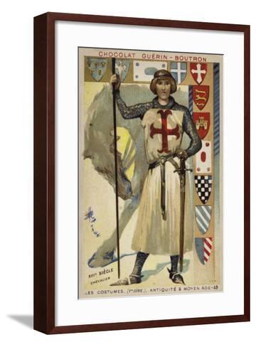 Knight, 13th Century--Framed Art Print
