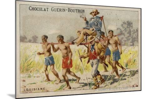 Louisiana--Mounted Giclee Print
