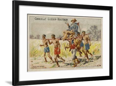 Louisiana--Framed Art Print