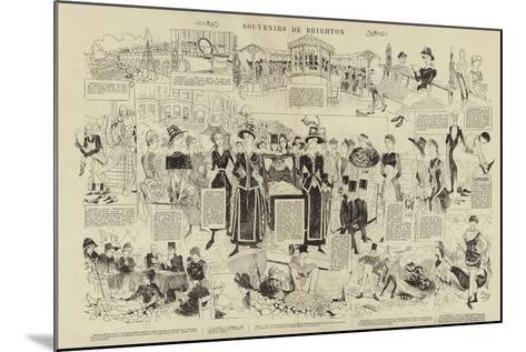 Souvenirs De Brighton--Mounted Giclee Print