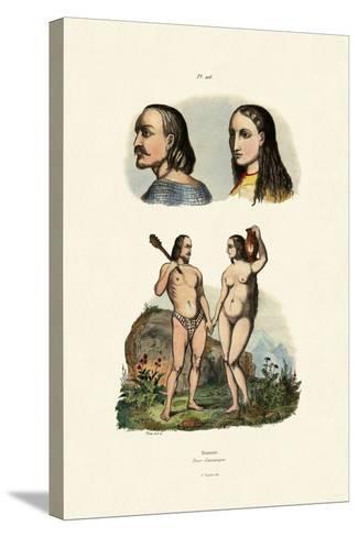Caucasians, 1833-39--Stretched Canvas Print