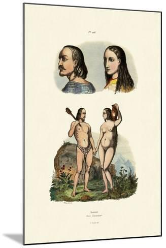 Caucasians, 1833-39--Mounted Giclee Print
