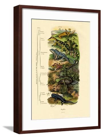 Reptiles, 1833-39--Framed Art Print