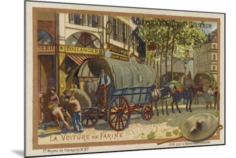 Flour Wagon--Mounted Giclee Print