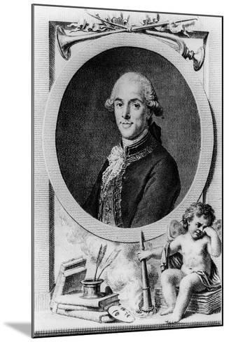Tomas De Iriarte--Mounted Giclee Print