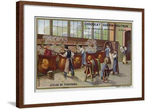 Dyeing Workshop--Framed Art Print