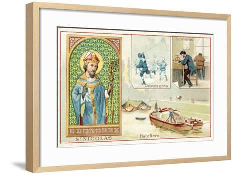 St Nicholas--Framed Art Print