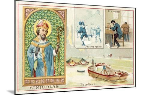 St Nicholas--Mounted Giclee Print