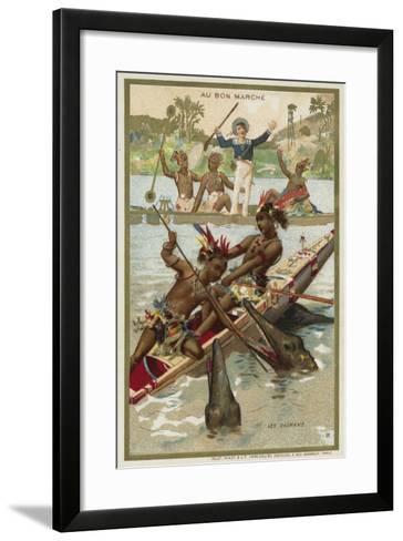 The Caymans--Framed Art Print