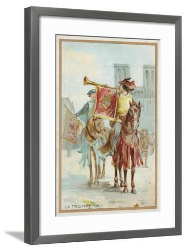 The Trumpet--Framed Art Print