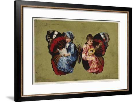 I Come to Your Window--Framed Art Print