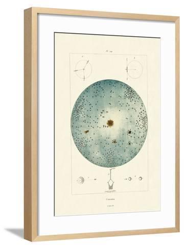 Universe, 1833-39--Framed Art Print