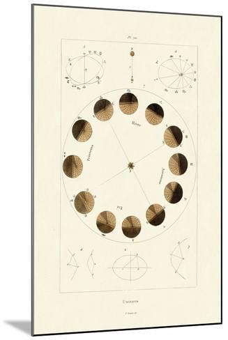 Universe, 1833-39--Mounted Giclee Print
