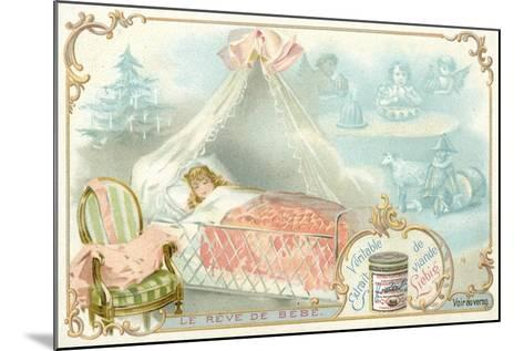 The Baby's Dream--Mounted Giclee Print