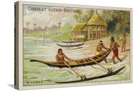 Nicobar Islands--Stretched Canvas Print