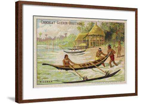 Nicobar Islands--Framed Art Print