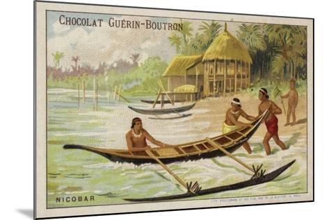 Nicobar Islands--Mounted Giclee Print