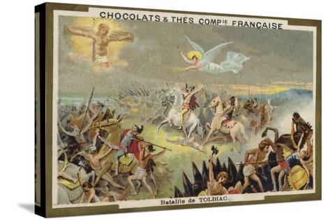 Battle of Tolbiac--Stretched Canvas Print