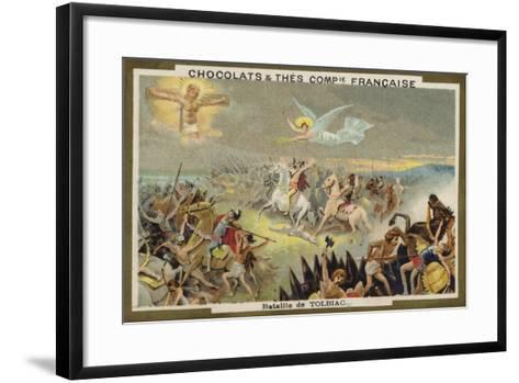 Battle of Tolbiac--Framed Art Print