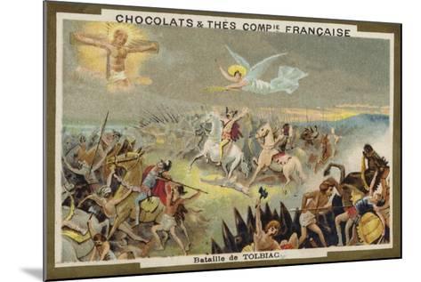 Battle of Tolbiac--Mounted Giclee Print