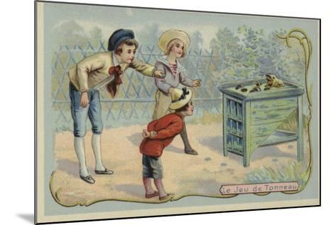 Coin Tossing Game--Mounted Giclee Print