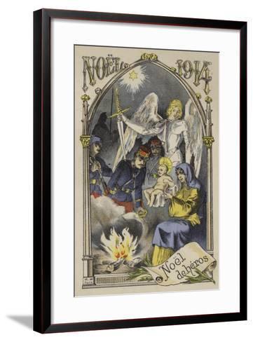 Christmas 1914--Framed Art Print