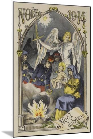Christmas 1914--Mounted Giclee Print