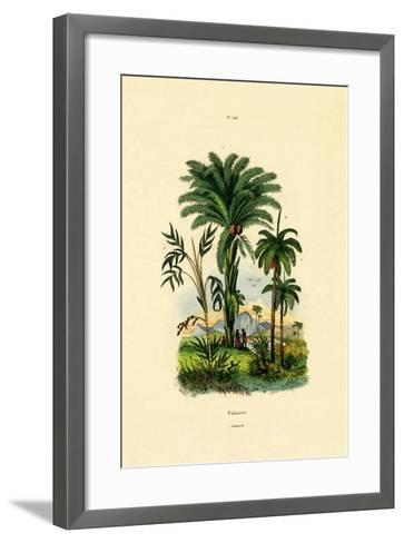 Palm Trees, 1833-39--Framed Art Print