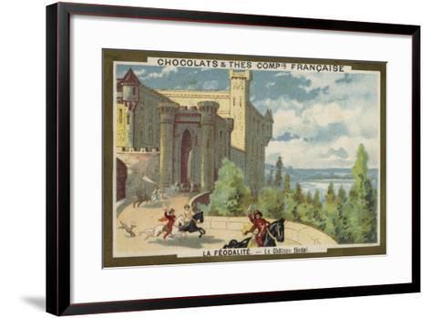 Feudal Castle--Framed Art Print