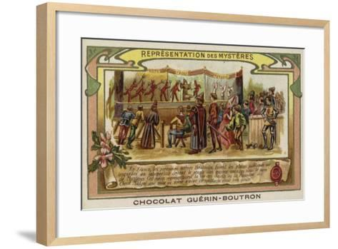Mystery Play--Framed Art Print