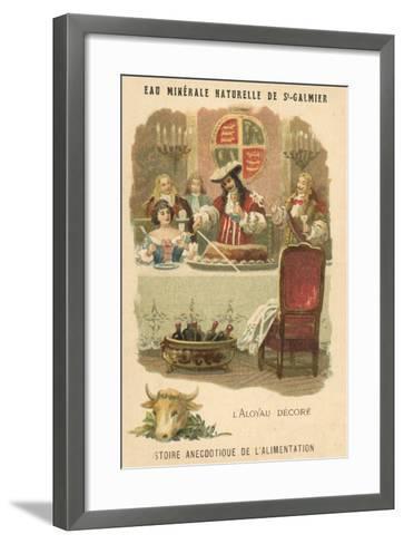 Decorated Sirloin--Framed Art Print