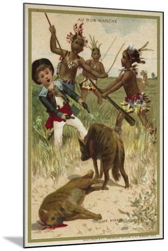 The Hyenas--Mounted Giclee Print