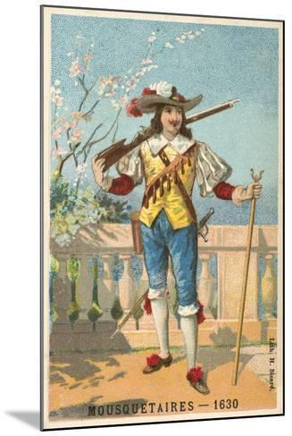 Musketeer, 1630--Mounted Giclee Print