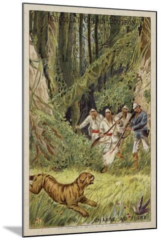 Tiger Hunting--Mounted Giclee Print