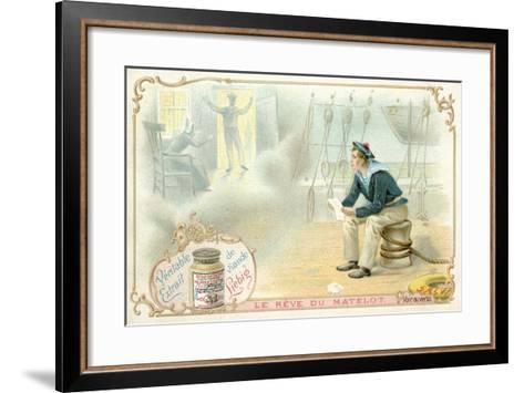 The Sailor's Dream--Framed Art Print