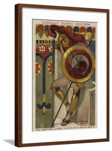 Phoenician Soldier--Framed Art Print