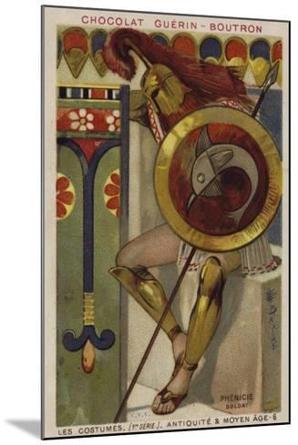 Phoenician Soldier--Mounted Giclee Print