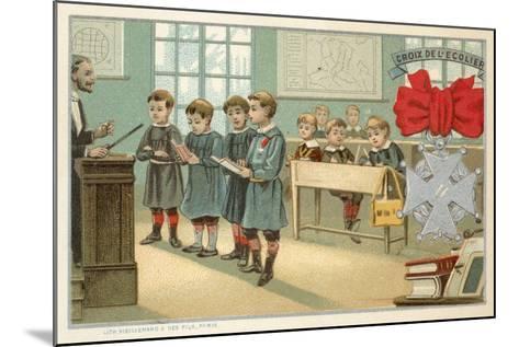 Schoolboy's Cross--Mounted Giclee Print