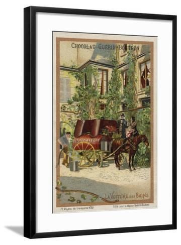 Bathing Wagon--Framed Art Print