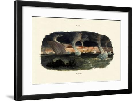 Waterspouts, 1833-39--Framed Art Print